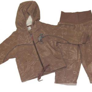 Huppa fliiskomplekt JACOBI 4307CS14 bark pattern-871 Vali suurus!!! (62-92cm)