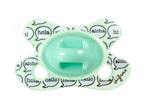 Silikoonlutt Dental -2/+2 rohekas-sinine aloha rõngata (Difrax)