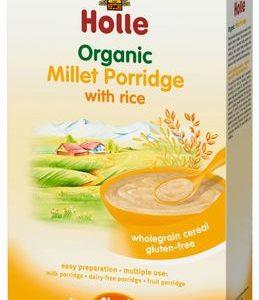 Holle ökoloogiline hirsipuder riisiga 250g 4.kuust