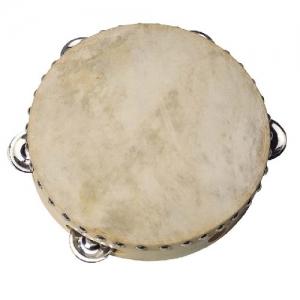 Tamburiin nahaga, 5 kuljusega 20cm