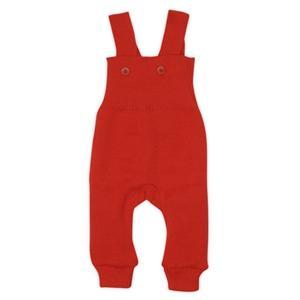 Disana traksidega püksid 100% meriinovill 50-56, punane