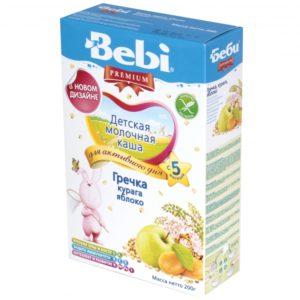 Beebi laste tatrapuder piima,õuna ja aprikoosiga,vitamiinide ja mineraalainetega 200g 5-kuust