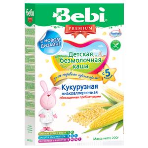 Beebi laste maisipuder piimata vitamiinide ja mineraalainetega 200g 5-kuust