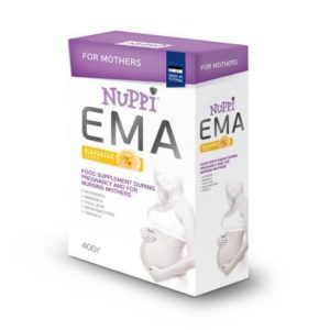 Lisatoit rasedatele ja imetavatele NUPPI Ema 24x400g (1pakk-5,52eur)
