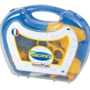 Ecoiffier Mecanics tööriistad kohvris