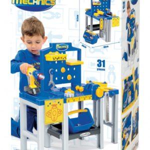 Ecoiffier töölaud Mecanics