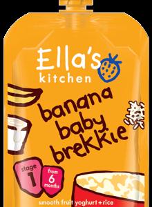 Banaani hommikupüree 6x100g (1tuub-1,69eur)Ella`s Kitchen 6.kuust