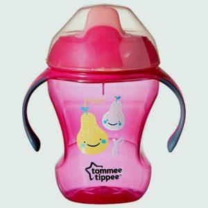 Tommee Tippee Easy Drink Cup Explora Roosad pirnid 6+kuud 230ml