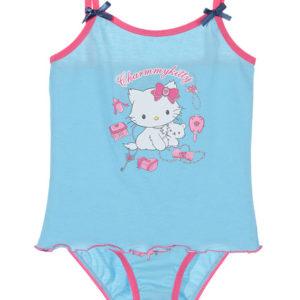 Särk+aluspüksid Charmmy Kitty helesinine 6/8 aastasele