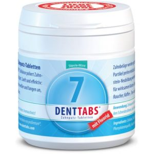 Denttabs hambapuhastustabletid fluoriidiga