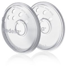 Rinnakaitse-piimakoguja-vormija rinnanibudele õhuavadega Medela 2tk 008.0043
