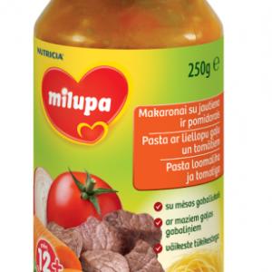 Pasta loomaliha ja tomatiga 250g 12+kuud Milupa