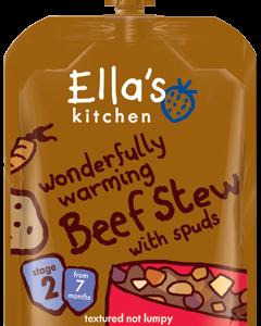 Orgaaniline Hautatud loomaliha kartuliga 130g 7.kuust (1tuub-2,29eur)Ella`s Kitchen