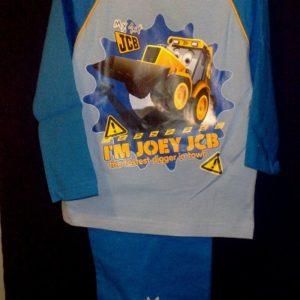Pidzaama 12/18 kuud lapsele,  86cm I`M Joey JCB h.sinine/sinisega Disney