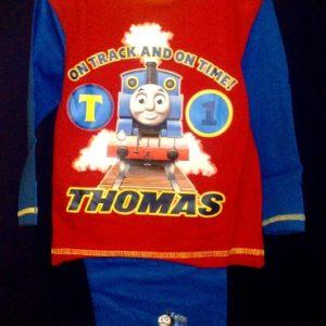 Pidzaama 12/18uusele lapsele,  86cm Thomas punane/sinisega Disney