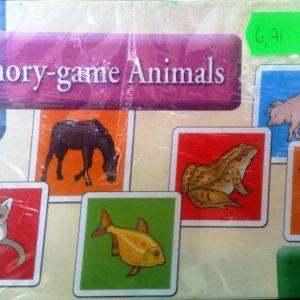 Kaardid Memoriin Memory game Animals-loomad