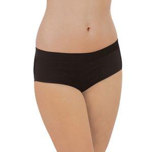 Õmblusteta elastsed püksid Organic (rasedale) must Carriwell