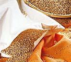 Ruskovilla hirsikestapadi beebidele 25x35cm