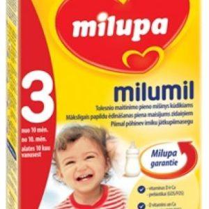 Milumil 3 – piimal põhinev imiku jätkupiimasegu alates 10 kuust,350g