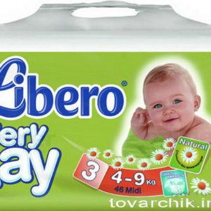 Libero Everday Mini 4-9kg N3 46tk