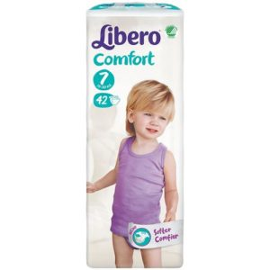 Libero 16-26kg Comfort  Jumbo pack XL+ N7 42tk