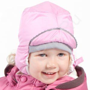 Tüdrukute müts JENNY (8822AW12) 47/49cm 003 heleroosa Huppa