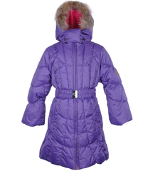 Laste mantel SERENA (1213aw13) 122cm 083 violetne Huppa