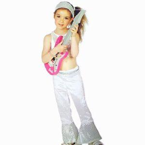Barbie White Star kostüüm 5-7aastasele tüdrukule ( 116cm)