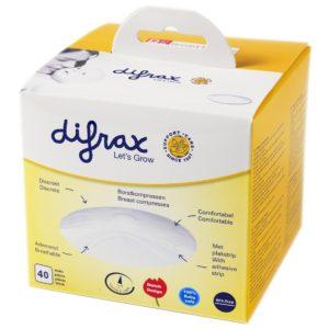 Difrax ühekordsed rinnapadjad (40 tk)