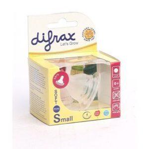 Pudelilutt Mini kitsa kaelaga pudelile 2tk Difrax