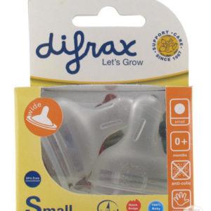 Pudelilutt Mini laia kaelaga pudelile 2tk Difrax