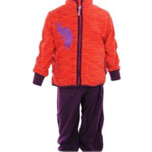 Fliis komplekt KADI 4302CW13 red pattern/purple 804 92cm Huppa