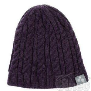 Laste kootud müts LOREN (8330AW13) M 053 lilla HUPPA
