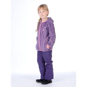 Komplekt KERTI 4305CW13 98cm violet pattern/violet 883 Huppa