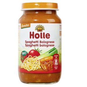 Holle Spaghetti Bolognese 220g 8.kuust