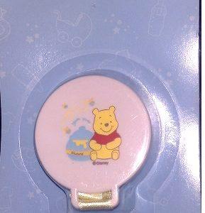Disney lutipael rõngaslutile,krõpsuga Winnie Puhh Valge klips/Kollane pael