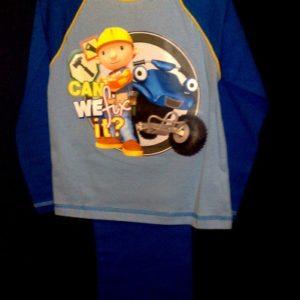 Pidzaama 3/4aastasele lapsele, 104cm Bob Builder h.sinine/sinine Disney