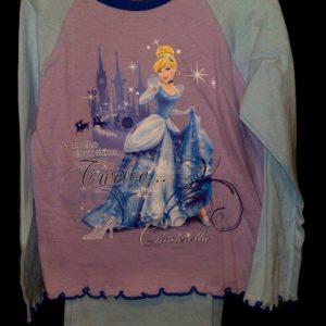 Pidzaama 3/4aastasele lapsele, 104cm Cindrella lilla/h.sinine Disney