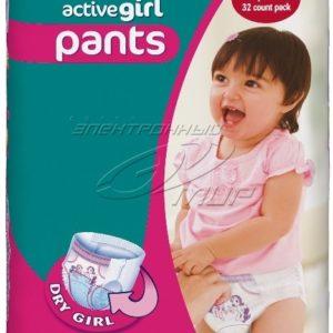 Pampers püksid girl 12-18kg LG CP Junior 48tk