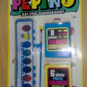 Joonistamise komplekt 4-osaline PEPINO