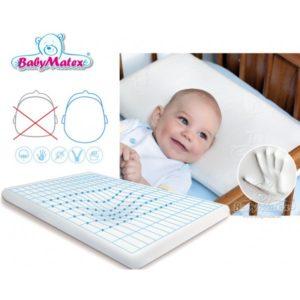 babymatex-memo-thermoaktives-babykopfkissen-inkl-bezug-antiallergisches-memory-foam-kopfkissen-