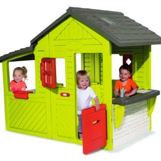 5ec171699bb Smoby maja koos liumäe ja kiigega. | Murumuna Lastekaubad