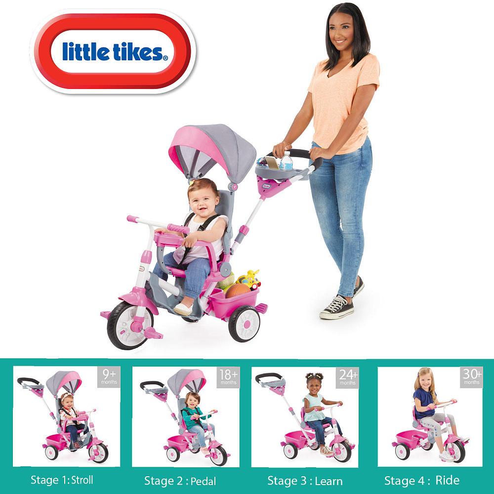 129c795c5fd Little Tikes 4in1 jalgratas Perfect Fit roosa | Murumuna Lastekaubad
